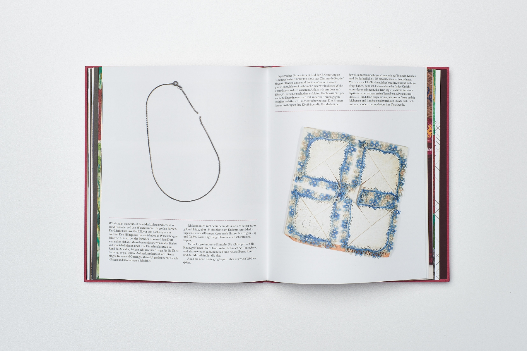 Lisa Reichmann, Erinnerungen an die Urgroßmutter, Buch Repro